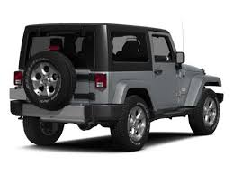 jeep wrangler 2015 white. jeep 2015 rear 34 facing to the right base wrangler white