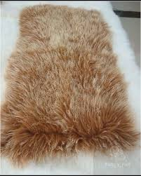 tibetan mongolian lamb fur rug contemporary area rugs by curly fur imports