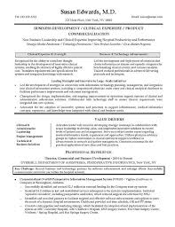 Clinical Researcher Resume Example