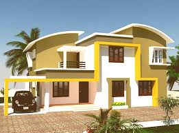 Exterior House Colors Indian Home Design Mannahatta Us