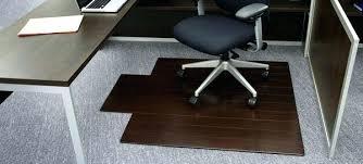 office chair mat deluxe bamboo chair mat office chair mat for carpet office chair mat