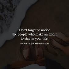 Forget The Past Quotes Cool Positive Quotes Don't Forget To Notice The People Who Make An