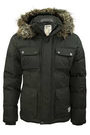 Mens Quilted Parka Jacket/ Cost by Dissident 'Picton' | eBay & Mens-Quilted-Parka-Jacket-Cost-by-Dissident-039- Adamdwight.com