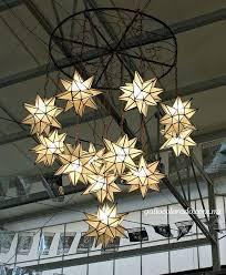 star chandelier star pendant lighting