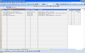 monthly household expenses sheet example of spreadsheet for household expenses businessonthly