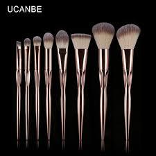 anastasia brush kit. makeup brush set rose gold metallic eyeshadow make-up brushes foundation powder contour cosmetics blending tool kits anastasia kit