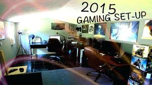 bedroom comely excellent gaming room ideas. Cool Gaming Bedroom Ideas Setup Amazing  Agreeable Room Comely Excellent D