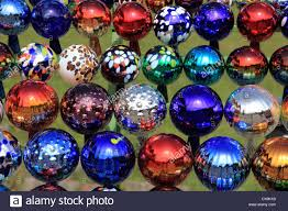 Glass Balls For Decoration collection of colored glass balls decoration in garden Photo by 66
