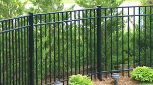 fences. Wonderful Fences Residential U0026 Commercial Aluminum Fencing With Fences V