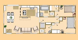 Cargo Container House Plans Floor Plan Of Our 640 Sq Ft Daybreak Floor Plan Using 2 X 40