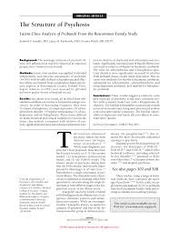 the structure of psychosis genetics and genomics jama first page pdf preview