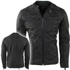 red bridge men s biker jacket imitation leather camouflage army moda italia