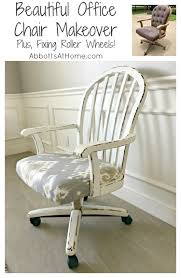 beautiful office chairs. Office Chair Makeover. Beautiful Makeover And Fixing Roller Wheels On This I Found Chairs C