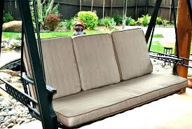 patio swing cushion replacement outdoor swing cushions cushions for porch swings garden treasures porch swing