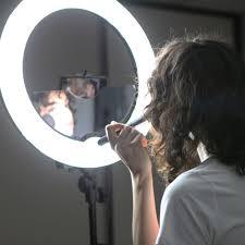 Ring Light Mirror Spectrum Aurora Ring Light Selfie Mirror And Camera Mount Mirror Only