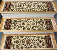 155375 traditional 33 x 9 inches polypropylene stair treads ivory