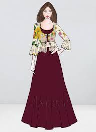 Skirt N Top Designs Bollywood Vogue Custom Made Crop Top N Skirt