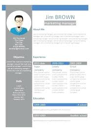Free Resume Templates For Word 2010 Fascinating Cv Templates Word 48 Free Download Resume Template On Letsdeliverco