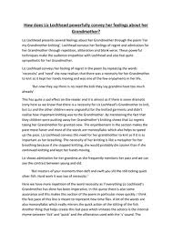 for my grandmother knitting essay by lucaay teaching   for my grandmother knitting essay by lucaay 2012 teaching resources tes