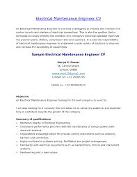 Mechanical Maintenance Engineer Resume Format It Resume Cover