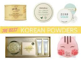 best korean powders