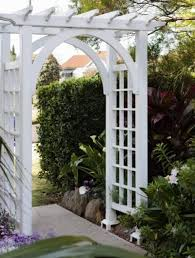 learn about homemade garden arbor designs