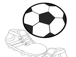 Voetbalschoenen Kleurplaat Kleurplaten Printen Op Minipretnl