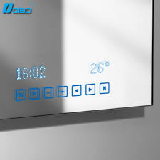 Bathroom Touch Screen Bluetooth Mirror Buy Bluetooth Mirror