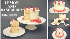 Lemon And Raspberry Cake Recipe By Busi Christian Iwuagwu Youtube