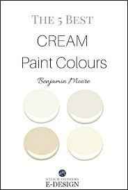 the best cream paint colours by benjamin moore off white cream and warm