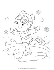 So these are perfect for teens, ambitious tweens. Winter Coloring Pages Free Printable Pdf From Primarygames