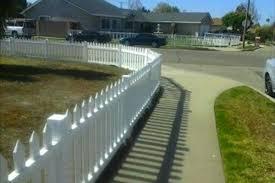 vinyl picket fence front yard. Vinyl Picket Fence Front Yard N