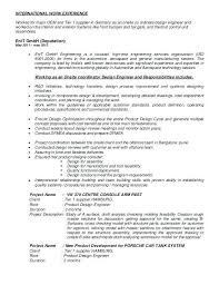 Memory Design Engineer Sample Resume