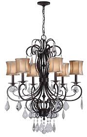 world imports lighting 8852 89 annelise 6 light crystal chandelier