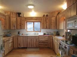 custom rustic kitchen cabinets. Rustic Hickory Kitchen Flooring Custom Cabinets