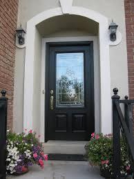 doors entry door with glass exterior doors black front door with glass panel brass
