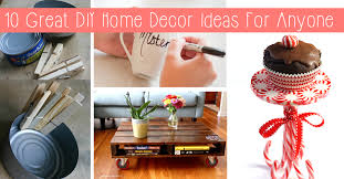 10 great diy home decor ideas for