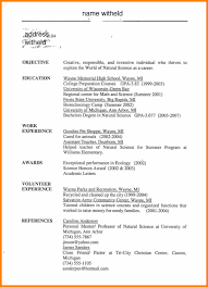 Resume Objective Examples For Students Resume Objective Examples
