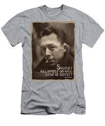 Albert Camus Quote Mens T Shirt Athletic Fit