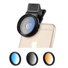 Zomei 5 in 1 Universal 37mm Cell Phone Clip-On ... - Amazon.com