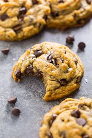 gooey chewy chocolate chip cookies. Interesting Gooey These Vegan Chocolate Chip Cookies Are Thick Chewy And Loaded With Gooey  Chocolate Intended Gooey Chewy F