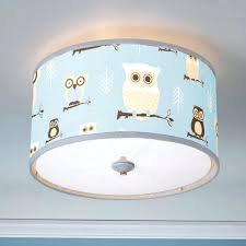 simplistic photo 6 of 8 best owl lamp shades for baby nursery light this owl drum will make a fun addition baby nursery light shade o25947