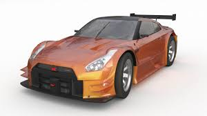 Nissan gtr r35 2016 nismo edition 3D Model in Racing 3DExport