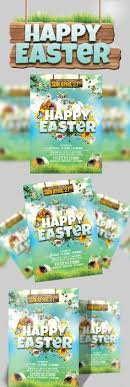 Happy Easter Flyer Template | Flyer Template, Happy Easter And Template