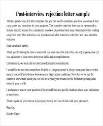 Thank You Resume Letters Thank You Email After Rejection Zaxa Tk