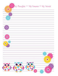free printable stationery  free online writing paper