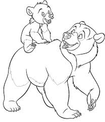 Small Picture 101 best Disney Brother Bear coloring pages Disney images on
