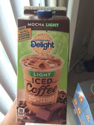 Made with real milk, cream, and cane sugar, it's the same chocolaty flavor you love with 33% fewer calories than our regular mocha iced coffee. Mocha Light Iced Coffee Carton
