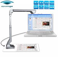 Document Capture <b>A3 A4</b> Portable Document Camera Scanner ...