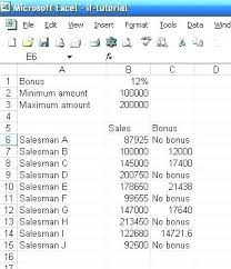 Excel If Statement Examples If Nested Excel Multiple If Then